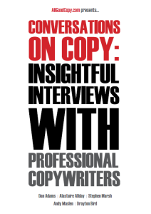 A free special report for readers of AllGoodCopy,com (Designed by @rhinett)