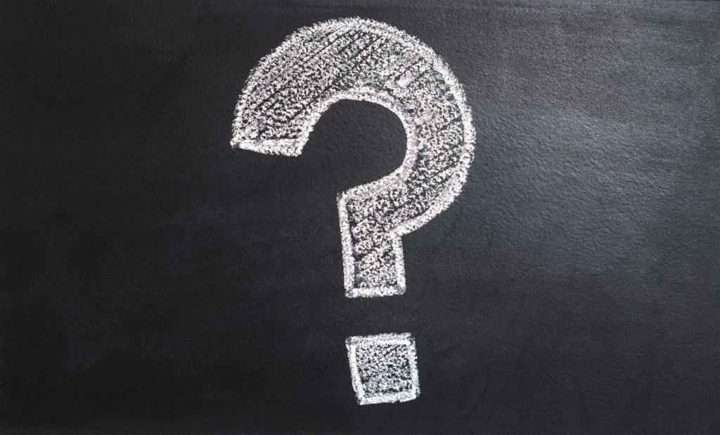 Why it's dangerous to ask questions in copy